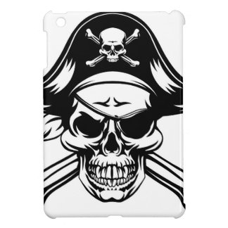 Pirate Skull and Crossbones Cover For The iPad Mini