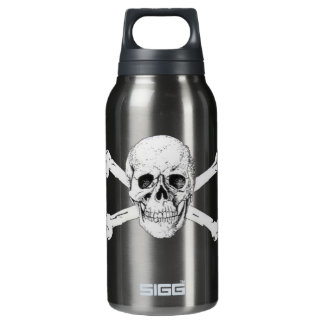 Pirate Skull and Crossbones Insulated Water Bottle