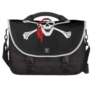 Pirate Skull and Crossbones Computer Bag