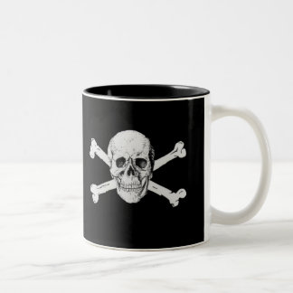 Pirate Skull and Crossbones Mug