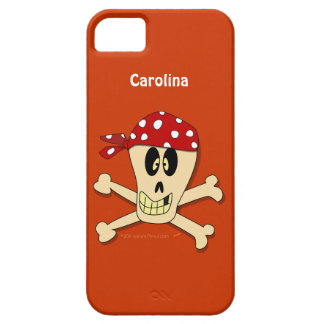 Pirate Skull and Crossbones Personalised iphone 5 iPhone 5 Cover