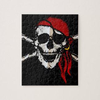 Pirate Skull And Crossbones Puzzle