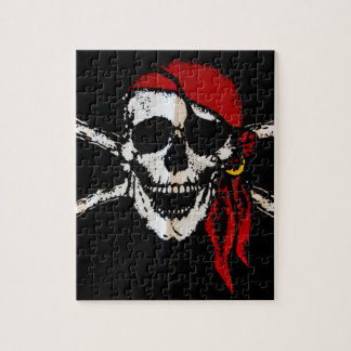 Pirate Skull And Crossbones Puzzles
