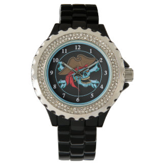 Pirate Skull and Crossbones Watch