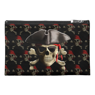 Pirate Skull And Hat Travel Accessories Bags