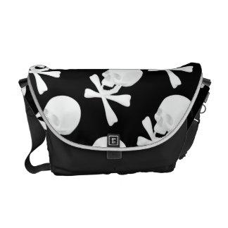 Pirate Skull & Bones Messenger Bag