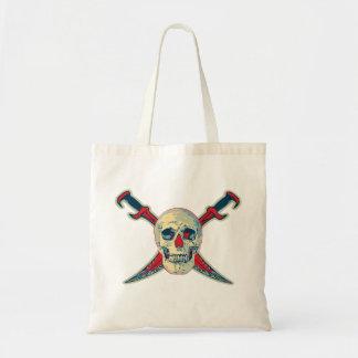 Pirate (Skull) - Budget Tote Budget Tote Bag