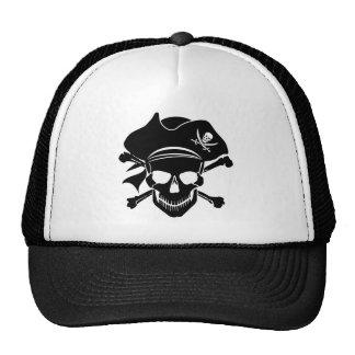 Pirate Skull Cross Bones Hat