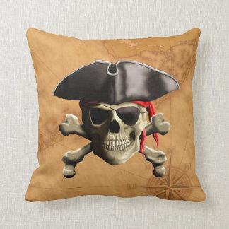 Pirate Skull Cushion
