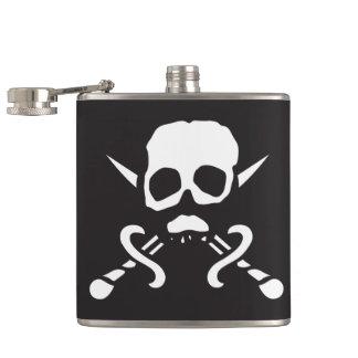 Pirate Skull Flask