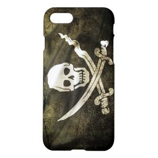 Pirate Skull in Cross Swords iPhone 7 Case