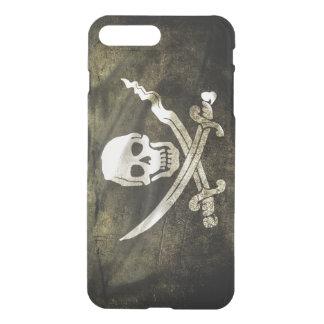 Pirate Skull in Cross Swords iPhone 7 Plus Case