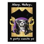 'Pirate Skull' Invitation