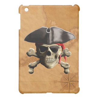 Pirate Skull iPad Mini Cover