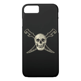 Pirate (Skull) - iPhone 7, Barely There iPhone 7 Case