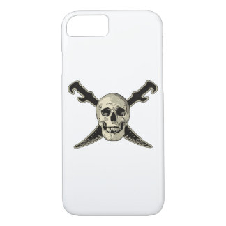 Pirate (Skull) - iPhone 7, Barely There iPhone 7 Case