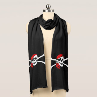Pirate Skull Scarf
