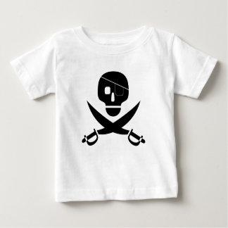 Pirate Skull Shirt for Infants