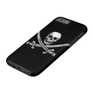 Pirate Skull & Sword Crossbones (TLAPD) Tough iPhone 6 Case