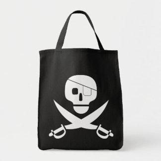 Pirate Skull Tote Bag