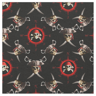 Pirate fabric for sewing quilting crafts for Kids pirate fabric
