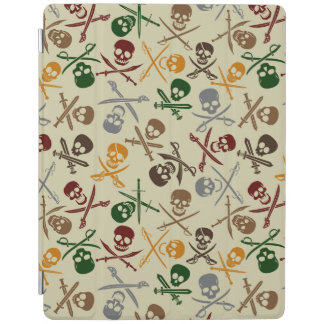 Pirate Skulls with Crossed Swords iPad Cover