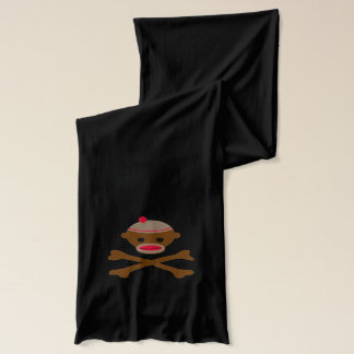 Pirate Sock Monkey Scarf