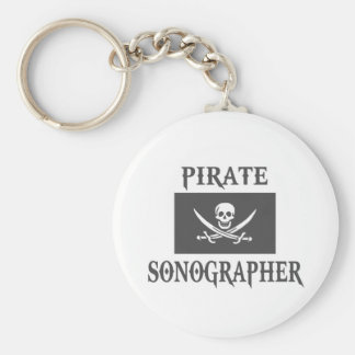 Pirate Sonographer Key Ring
