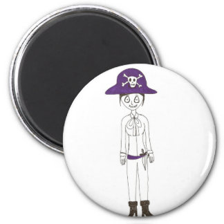 Pirate Stitch girl Fridge Magnets