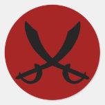 Pirate Sword Sticker