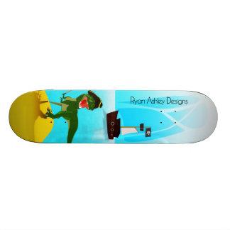 Pirate T-Rex Board Custom Skate Board
