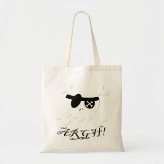 Pirate Budget Tote Bag