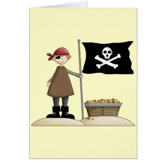 Pirate Treasure Greeting Card