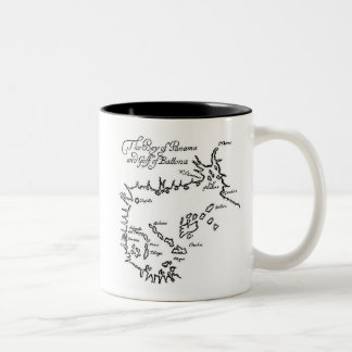Pirate Treasure Map Coffee Mug