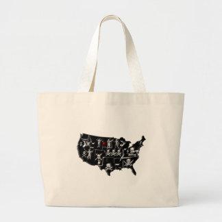 PIRATE USA JUMBO TOTE BAG