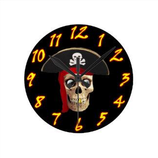 Pirate Wall Clock Style 2