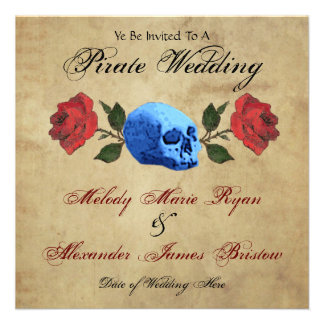 Pirate Wedding Invites