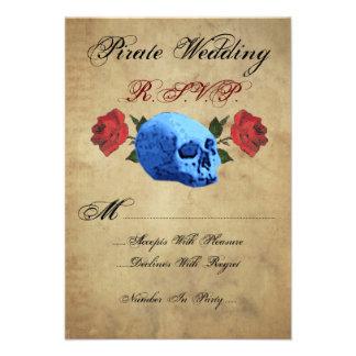 Pirate Wedding R S V P Announcement
