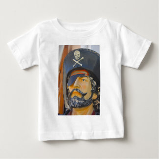 Pirate with Beard and Eye Patch Infant Tee Shirt