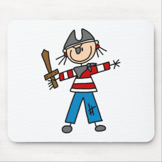 Pirate With Sword Mousepad