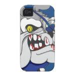Pirate Zombie Bulldog iphone4 Case