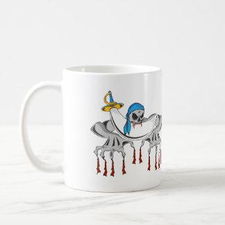 Pirate Zombie Skeleton Basic White Mug