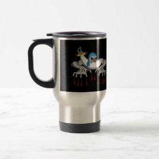 Pirate Zombie Skeleton Stainless Steel Travel Mug