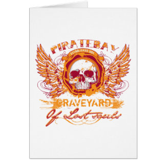 PirateBay Graveyard Of Lost Souls Greeting Card