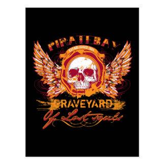 PirateBay Graveyard Of Lost Souls Post Cards