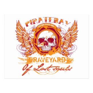PirateBay Graveyard Of Lost Souls Postcard