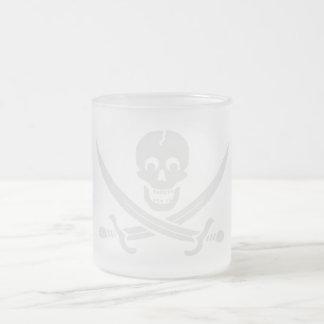 PirateLife,GlassMug Frosted Glass Mug