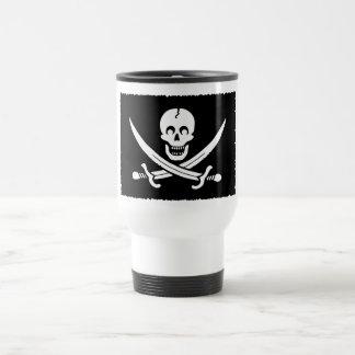 PirateLife,TravelMug Stainless Steel Travel Mug