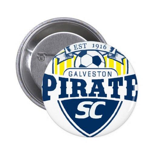 piratelogo2 6 cm round badge