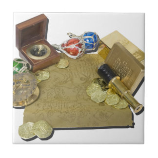 PirateMapGoldCoinsBarTelescopeCompass101115.png Small Square Tile